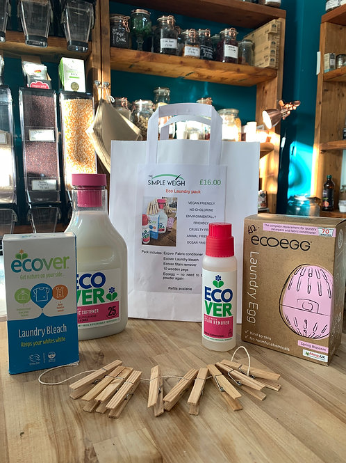 Eco Friendly Laundry Pack