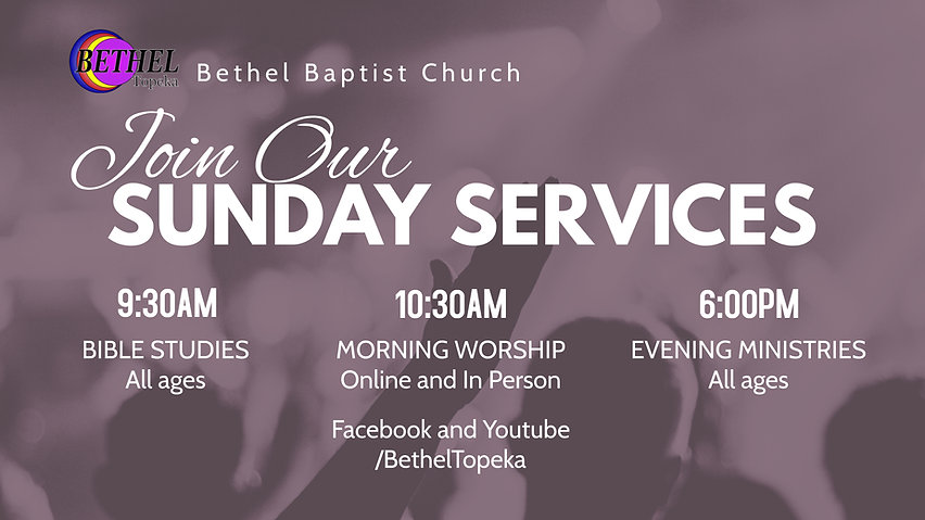 Sunday Services - Made with PosterMyWall