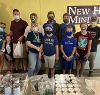 Bethel Volunteers at New Hope Food Pantry