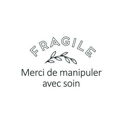 "Tampon ""Fragile"""