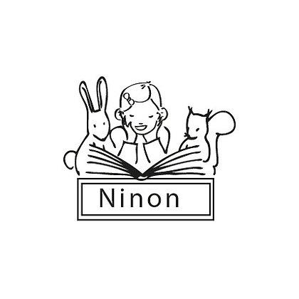 Tampon pour livre Ninon