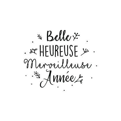 Belle heureuse Merveilleuse