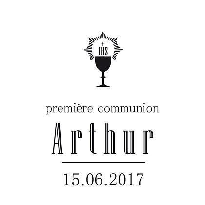 Tampon communion Arthur