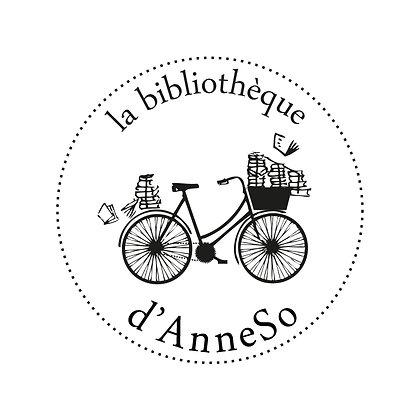 Tampon ex libris Vélo