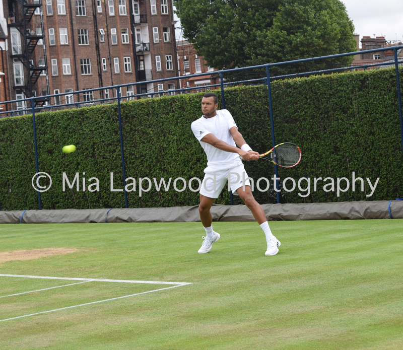 Tsonga - Queens Club 2015 - 4a