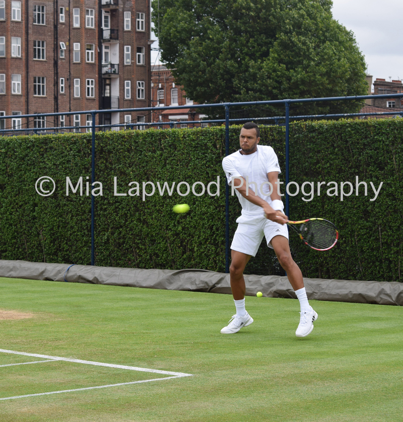 Tsonga - Queens Club 2015 - 1a