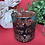 Thumbnail: Merry Christmas Green & Rose Gold - Large Glass
