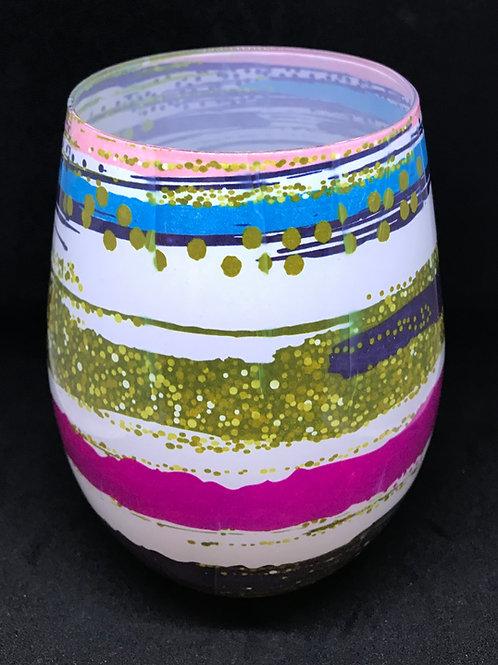 Art Deco - Arty Crafty - large glass