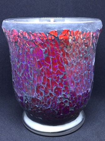 Red  Crackle - Hurricane - Large