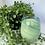 Thumbnail: Mint Blue Swirl - Vintage Glass - Large glass