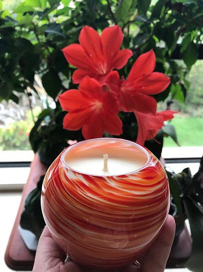 Orange Swirl Globe - what a stunner
