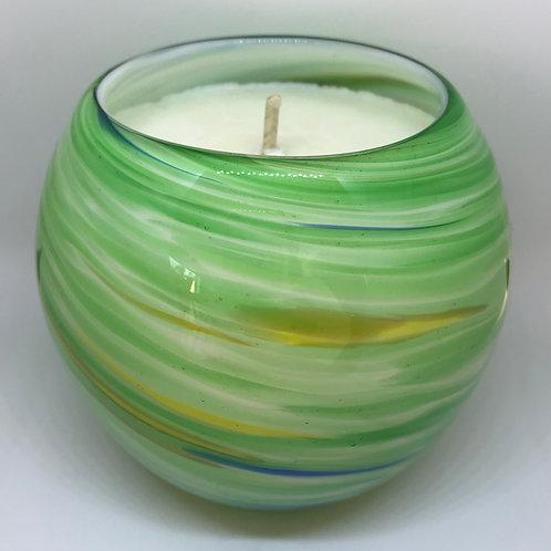 Green Swirl Globe - Very pretty