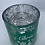Thumbnail: Merry Christmas Green & Silver - Large glass