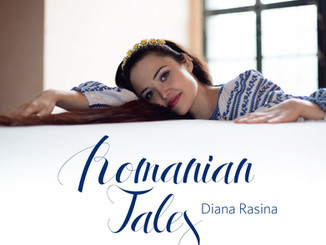 """Cover of the CD """"Romanian Tales"""""""
