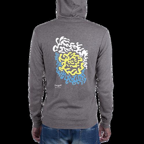 Bright Light Unisex zip hoodie