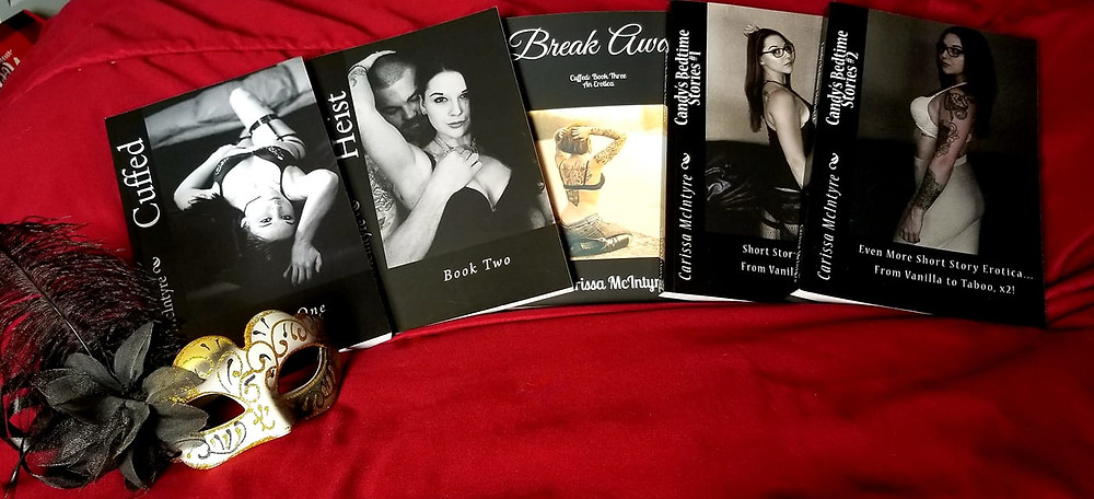 All 5 of my sexy erotica novels