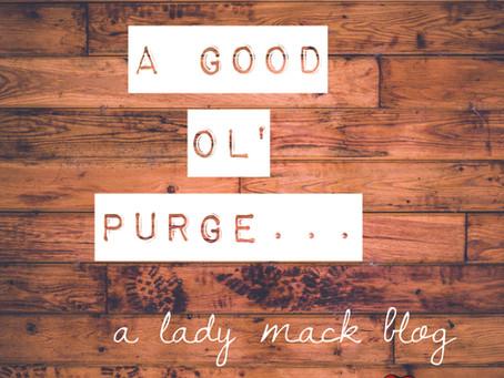 A Good Ol Purge