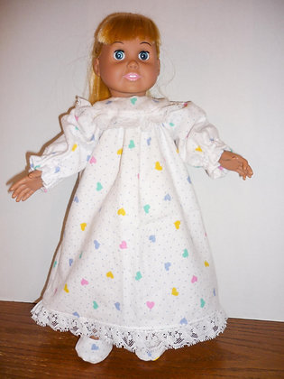 Sweet Dreams Pajama Gown Set