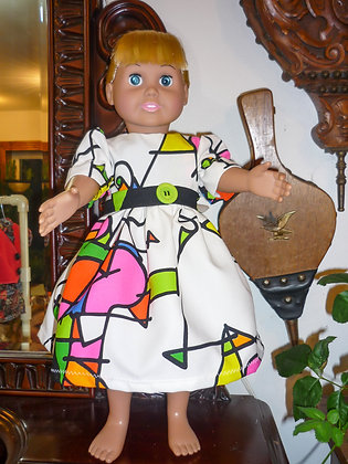 #17 Funky Color Dress