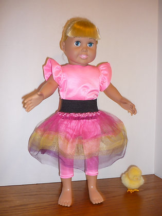 #80 Pink Dance Outfit