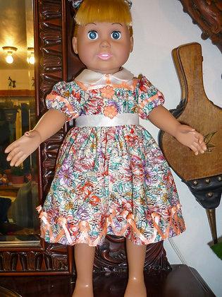#20 Sweetheart Flower Dress