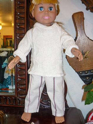#11 Comfy Cream Sweater Set
