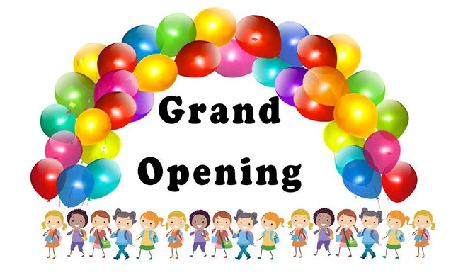 Celebrate My Grand Opening With Me!