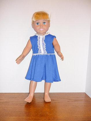 #130 Baby in Blue Dress