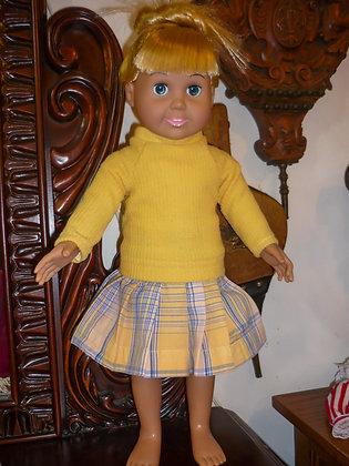 #41 Golden Girl Sweater Set