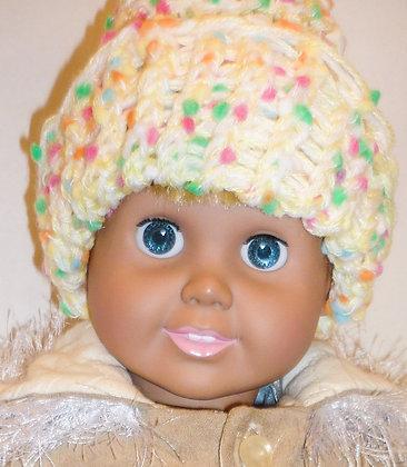 Pastel Knit Stocking Hat
