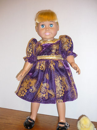 #83 Royal Purple Dress