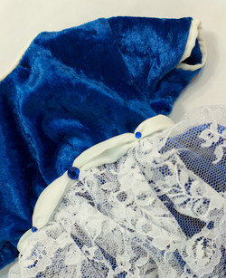 Lace and Jewel Detail