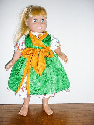 #143 Glorious Green Dress