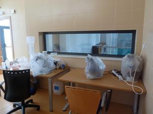 Pavilhão ROV - Laboratório
