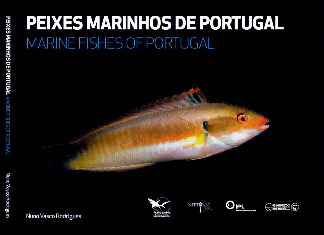 Capa Peixes Marinhos de Portugal