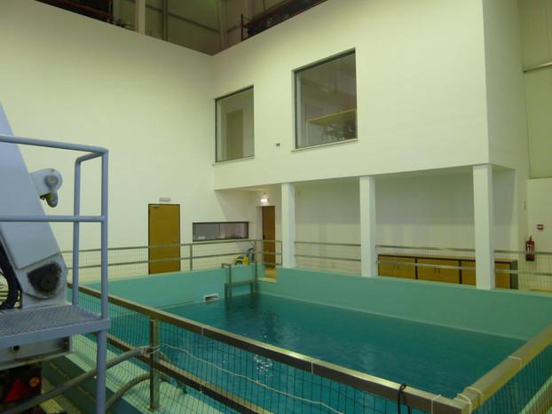 Pavilhão ROV - Piscina de testes