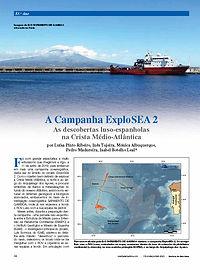 A Campanha ExploSEA 2 - As descobertas luso-espanholas na Crista Médio-Atlântica