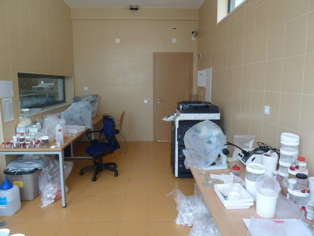 ROV Pavilion - Laboratory