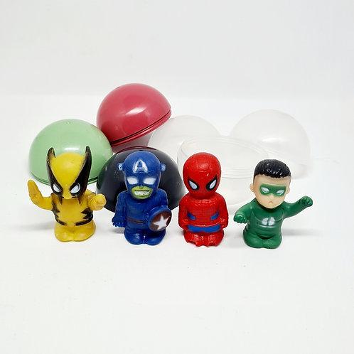 Cápsulas Super Heróis (10 unidades)