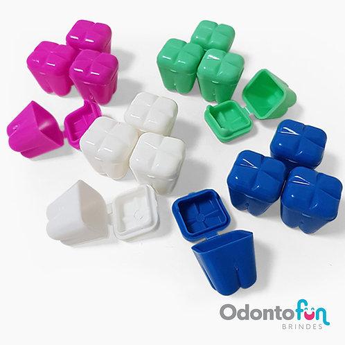 Caixa porta dente colorida (20 unidades)