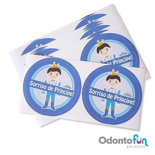 Adesivo Sorriso de Príncipe (pacote com 20 unidades)