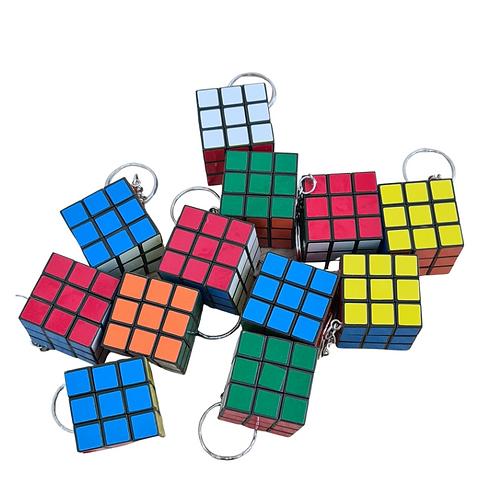 Chaveiro Cubo Mágico (12 unidades)