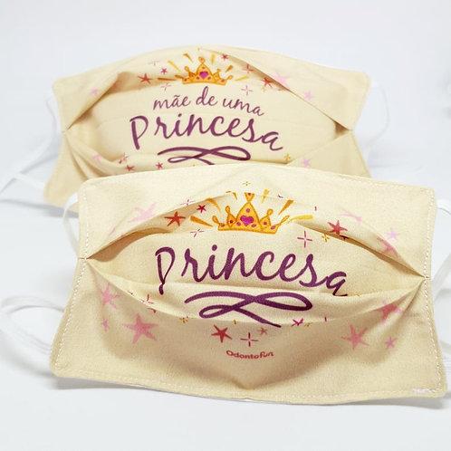 Máscaras Princess (mãe e filha - 2 unidades)