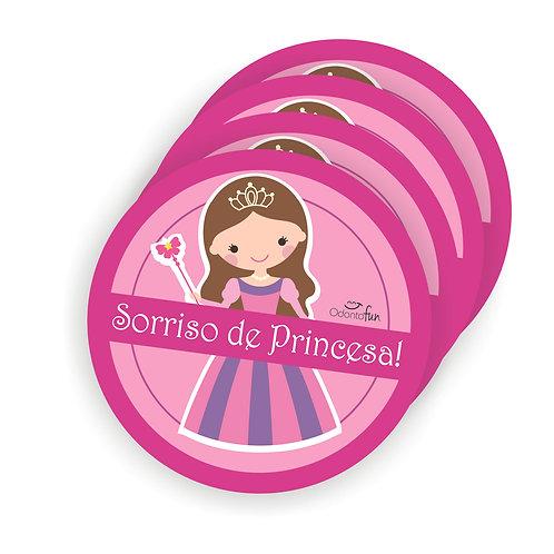 Adesivo Sorriso de Princesa (20 unidades)