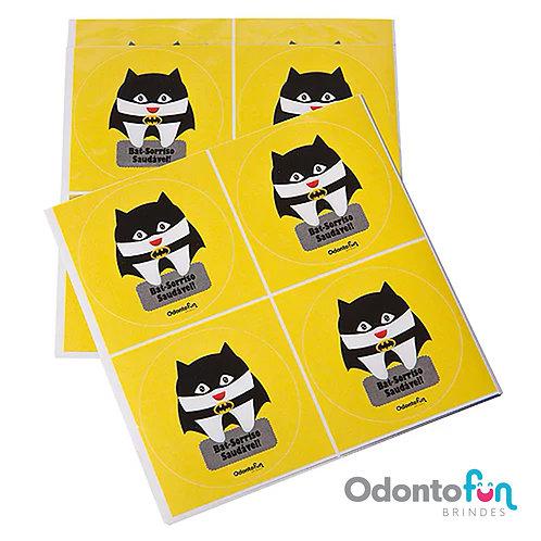 Adesivo Dente Batman (20 unidades)
