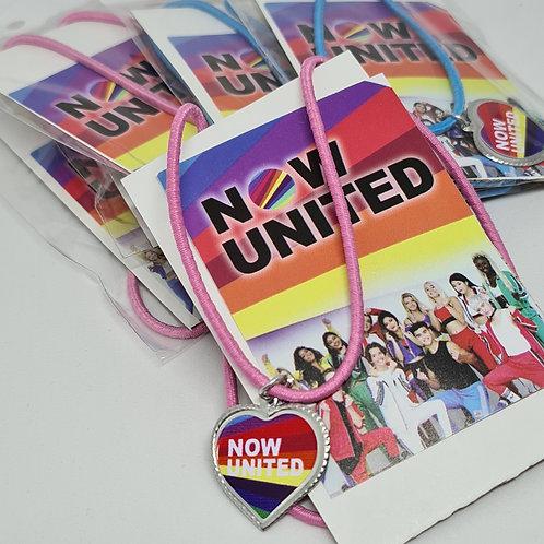 Colar Now United (pacote com 10 unidades)