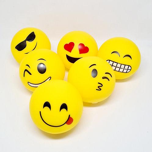 Bolinhas Fofinhas Emoji (6 unidades)