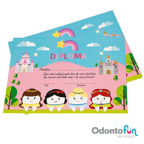 Diploma Dentinhas Princesas