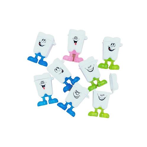 Caixa porta dente carinhas (10 unidades)