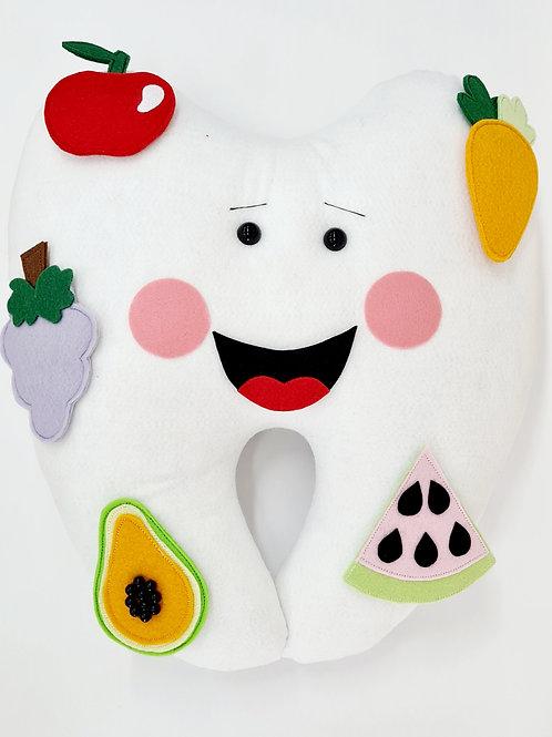 Boneco Dente Hábitos Alimentares (1 unidade)